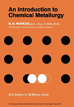 An Introduction to Chemical Metallurgy PDF