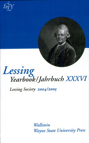 Lessing Yearbook