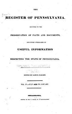 The Register of Pennsylvania