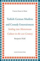 Turkish German Muslims and Comedy Entertainment PDF