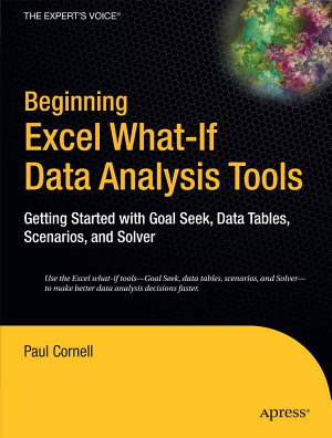 Beginning Excel What If Data Analysis Tools