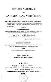 Histoire naturelle des animaux sans vertèbres ...