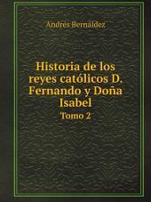 Historia de los reyes cat?licos D. Fernando y Do?a Isabel
