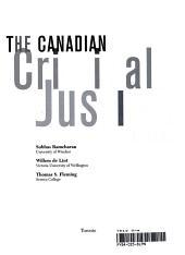 The Canadian Criminal Justice System PDF