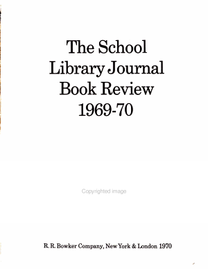The School Library Journal Book Review PDF