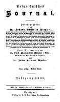 Polytechnisches Journal  Hrsg  von Johann Gottfried Dingler PDF