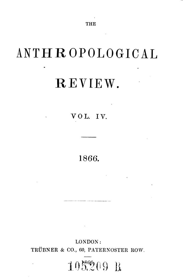 Anthropological Review