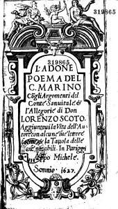 L'Adone, poema del cavalier Marino...