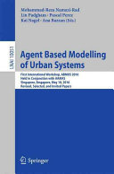 Agent Based Modelling of Urban Systems PDF