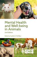 Mental Health and Well being in Animals  2nd Edition PDF