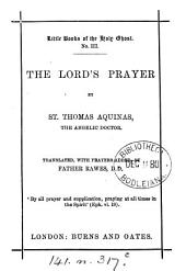 The Lord's prayer, tr. by father Rawes