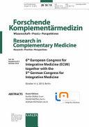 Integrative Medicine  ECIM