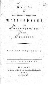 Reise in verschiedene Gegenden Aethiopiens