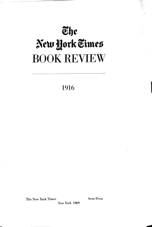 The New York Times Review of Books PDF