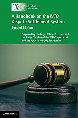 A Handbook on the WTO Dispute Settlement System PDF