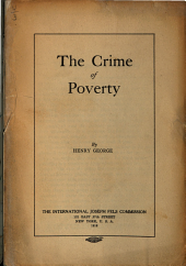 The Crime of Poverty