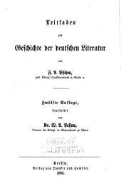 Leitfaden zur geschichte der deutschen literatur