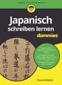 Japanisch Schreiben Lernen Fur Dummies PDF