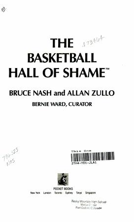 The Basketball Hall of Shame PDF