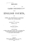 Reports of Cases Decided by the English Courts  1870 1883  PDF
