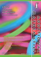 O level Additional Mathematics Challenging Drill Questions  Yellowreef  PDF