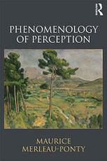 Phenomenology of Perception PDF