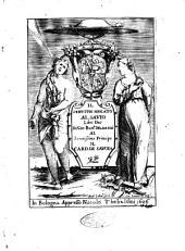 Il seruitio negato al sauio libri due di Gio. Batt.a Manzini al serenissimo principe il card. di Sauoia