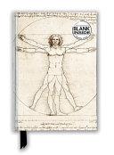 Leonardo Da Vinci  Vitruvian Man  Foiled Blank Journal  PDF