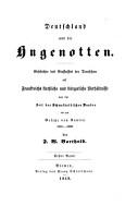 Deutschland und die Hugenotten PDF