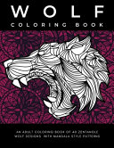 Wolf Coloring Book PDF