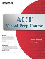 ACT Verbal Prep Course PDF