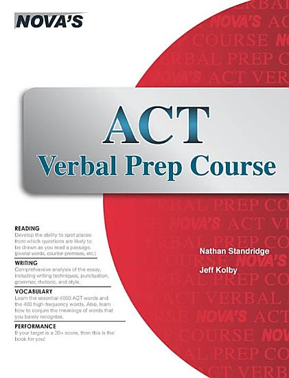 ACT Verbal Prep Course PDF