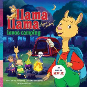 Llama Llama Loves Camping Book