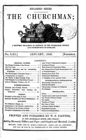 The Churchman  a monthly magazine in defence of the venerable Church and constitution of England  Enlarged ser PDF
