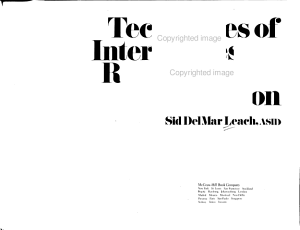 Techniques of Interior Design Rendering and Presentation PDF