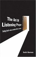 The Art of Listening Prayer