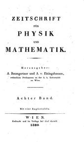 Zeitschrift fur Physick und Mathematik
