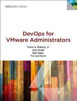 DevOps for VMware Administrators PDF