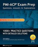 Pmi Acp Exam Prep  Questions  Answers    Explanations