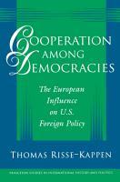 Cooperation Among Democracies PDF