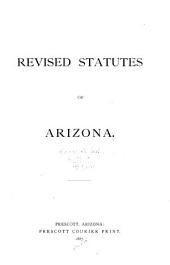 Revised Statutes of Arizona