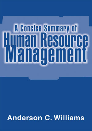 A Concise Summary of Human Resource Management PDF