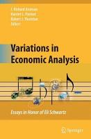 Variations in Economic Analysis PDF