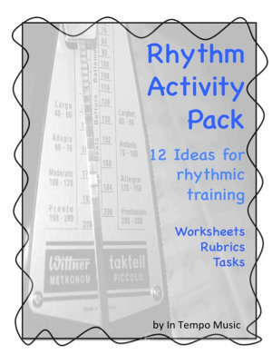 Rhythm Activity Pack