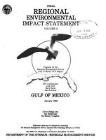 Final Regional Environmental Impact Statement  Gulf of Mexico PDF