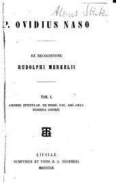 P. Ovidius Naso: Volume 1