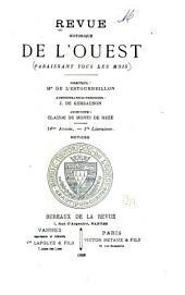 Revue historique de l'Ouest: Volume14