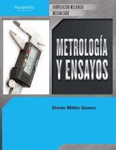 Metrología y ensayos