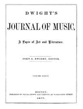 Dwight's Journal of Music: A Paper of Art and Literature, Volumes 35-36