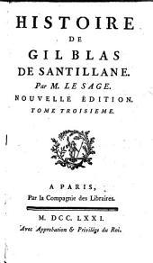 Histoire de Gil-Blas de Santillane: Volume3